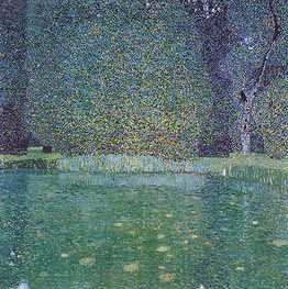 The Park of Schloss Kammer | Klimt | Gemälde Reproduktion