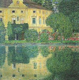Kammer Castle on the Attersee IV | Klimt | Painting Reproduction