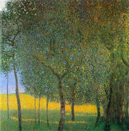 Fruit Trees | Klimt | Painting Reproduction