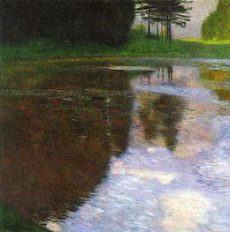 A Morning by the Pond | Klimt | Painting Reproduction