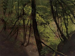 Waldinneres (In the Middle of the Forest) | Klimt | Gemälde Reproduktion