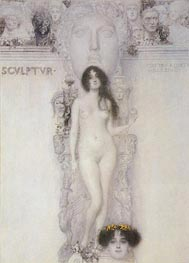 Allegory of Sculpture | Klimt | Gemälde Reproduktion