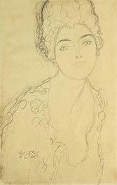 Bust of a Lady | Klimt | Painting Reproduction