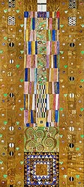 The Knight (Stoclet Frieze), c.1905/06 by Klimt | Painting Reproduction