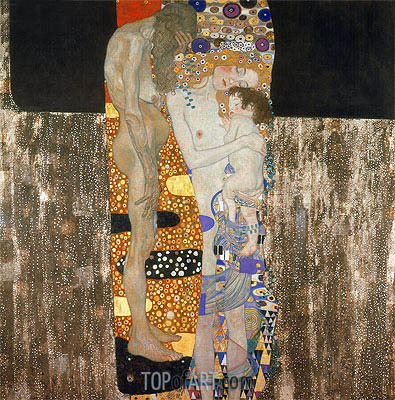 The Three Ages of Woman, 1905 | Klimt | Painting Reproduction