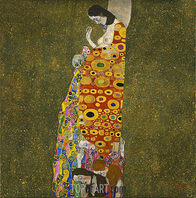 Hope II, c.1907/08 | Klimt | Painting Reproduction