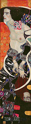 Judith II (Salome), 1909 | Klimt | Painting Reproduction