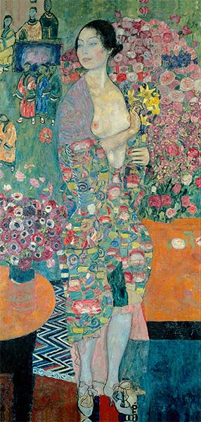 The Dancer, c.1916/18 | Klimt | Painting Reproduction
