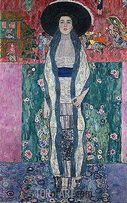 Portrait of Adele Bloch-Bauer II, 1912 | Klimt | Painting Reproduction