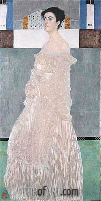 Margaret Stonborough-Wittgenstein, 1905 | Klimt | Gemälde Reproduktion