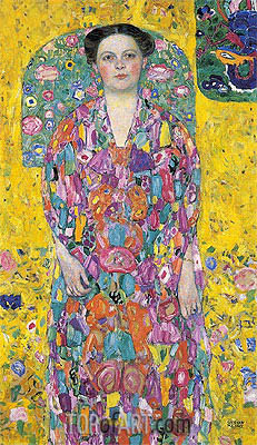Portrait of Eugenia Primavesi, c.1913/14 | Klimt | Painting Reproduction