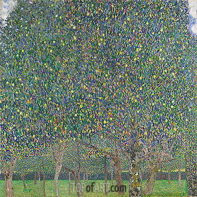 Pear Tree, 1903 | Klimt | Gemälde Reproduktion