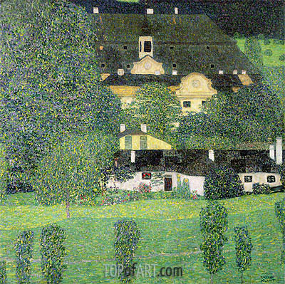 Kammer Castle at Attersee II, c.1909 | Klimt | Painting Reproduction