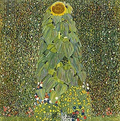 The Sunflower, 1905 | Klimt | Gemälde Reproduktion