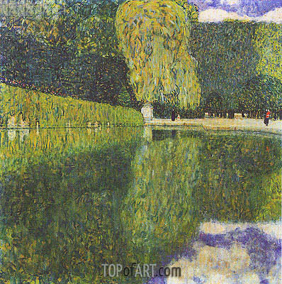 Schonbrunn Park, 1916 | Klimt | Painting Reproduction