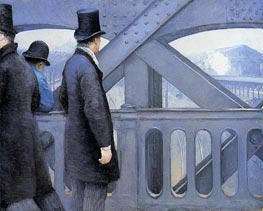 The Pont de Europe, c.1876/77 by Caillebotte | Painting Reproduction