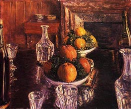 Still Life | Caillebotte | Painting Reproduction