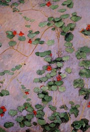 Nasturtiums | Caillebotte | Painting Reproduction