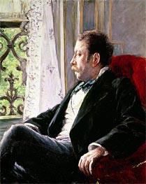 Portrait of a Man | Caillebotte | Painting Reproduction
