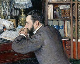 Portrait of Henri Cordier | Caillebotte | Painting Reproduction