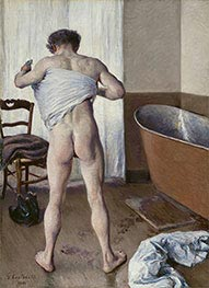 Man at his Bath | Caillebotte | Painting Reproduction