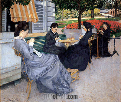 Portraits in the Countryside, 1876 | Caillebotte | Painting Reproduction