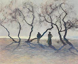 Tamarisk Trees, Southern France | Guy Rose | Painting Reproduction