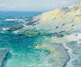 View of Wood's Cove, Rockledge, Undated by Guy Rose | Painting Reproduction