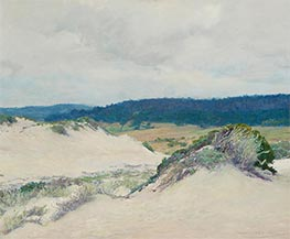 Carmel Dunes and Pebble Beach, 1918 by Guy Rose | Painting Reproduction