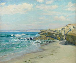 La Jolla Beach, Undated by Guy Rose | Painting Reproduction