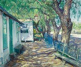 San Gabriel Road, c.1914 by Guy Rose | Painting Reproduction