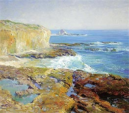 Laguna Rocks, Low Tide, c.1915/16 by Guy Rose | Painting Reproduction
