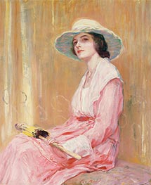 The Model, 1919 by Guy Rose | Painting Reproduction