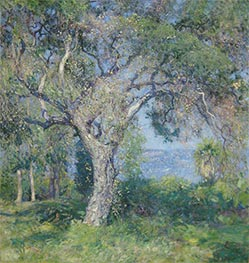 The Oak, 1916 by Guy Rose | Painting Reproduction