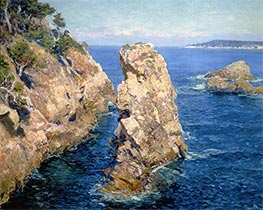 Point Lobos, 1918 by Guy Rose | Painting Reproduction