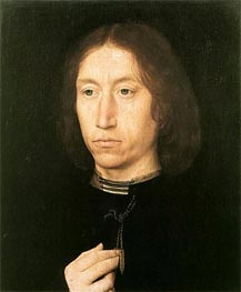 Portrait of a Man, c.1478/80 by Hans Memling | Painting Reproduction