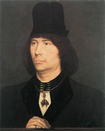 Portrait of Anthony of Burgundy | Hans Memling | Painting Reproduction
