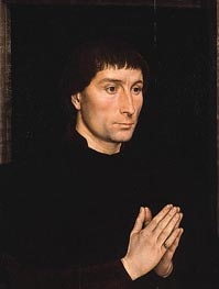 Tommaso di Folco Portinari, c.1470 by Hans Memling | Painting Reproduction