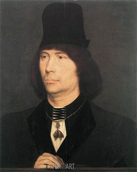 Portrait of Anthony of Burgundy, c.1467/70 | Hans Memling | Painting Reproduction