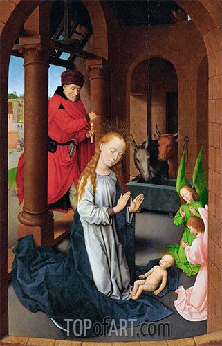 Nativity, c.1470/72 | Hans Memling | Painting Reproduction