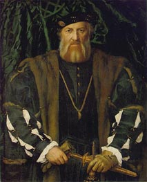 Portrait of Charles de Solier, Lord of Morette | Hans Holbein | Gemälde Reproduktion