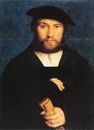Portrait of Hermann Hillebrandt de Wedigh | Hans Holbein | Painting Reproduction