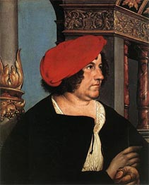 Portrait of Jakob Meyer zum Hasen | Hans Holbein | Painting Reproduction
