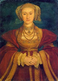 Portrait of Anne of Cleves | Hans Holbein | Painting Reproduction