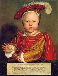 Portrait of Edward, Prince of Wales | Hans Holbein | Painting Reproduction