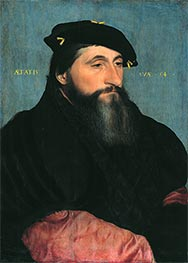 Portrait of Duke Antony the Good of Lorraine, c.1543 by Hans Holbein | Painting Reproduction