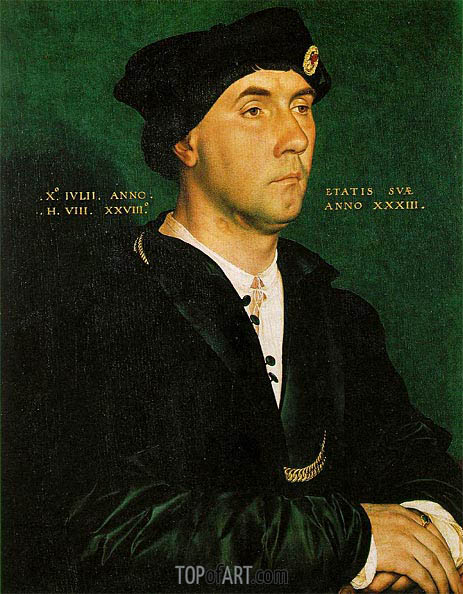 Portrait of Sir Richard Southwell, 1536 | Hans Holbein | Painting Reproduction