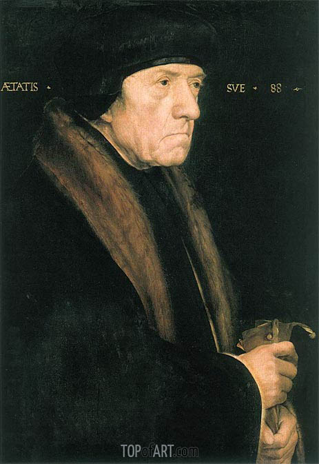 Portrait of John Chambers, c.1543 | Hans Holbein | Painting Reproduction