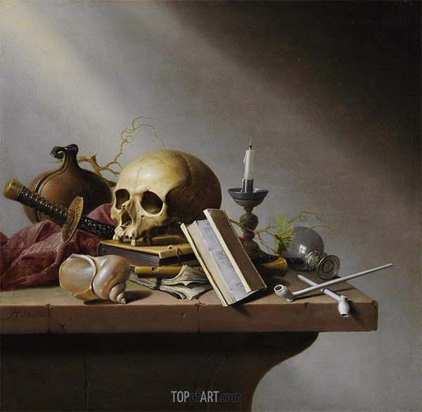 Vanitas, c.1640 | Harmen Steenwijck | Painting Reproduction