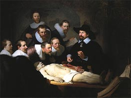 The Anatomy Lecture of Dr. Nicolaes Tulp | Rembrandt | Painting Reproduction